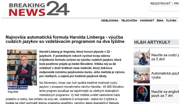 Ling Intelligence podvod harold lindberg
