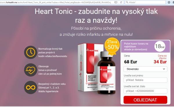 Hearth Tonic liek na srdce varovanie