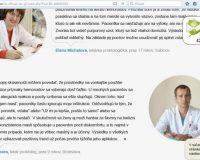 HemorrhoSTOP na hemeroidy: podvodné stránky a falošní lekári