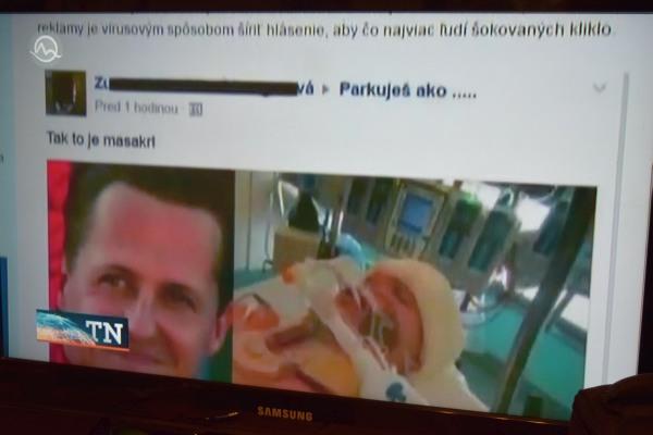 Hoax a TV Makríza