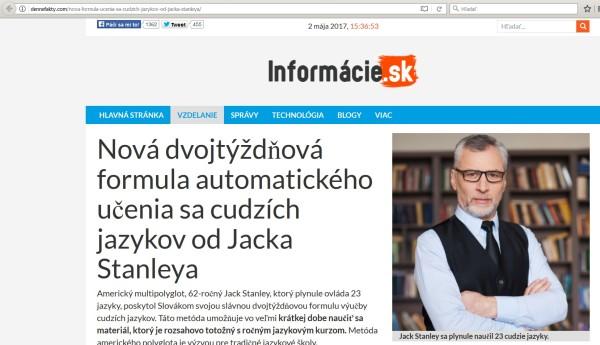 Jack Stanley polyglot podvod ling fluent