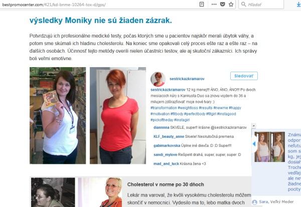 Kankusta Duo podvodné stránky chudnutie, falošné ženy