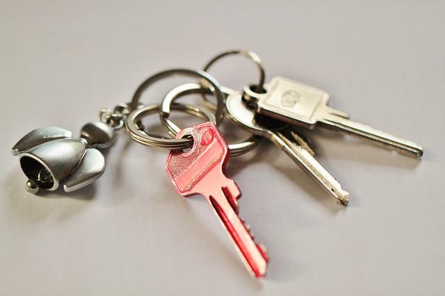kľúče prívesok
