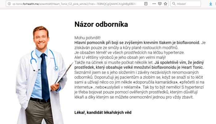 Gregor Moravský, podvodný liek Heart Tonic dlhovekosť pozor