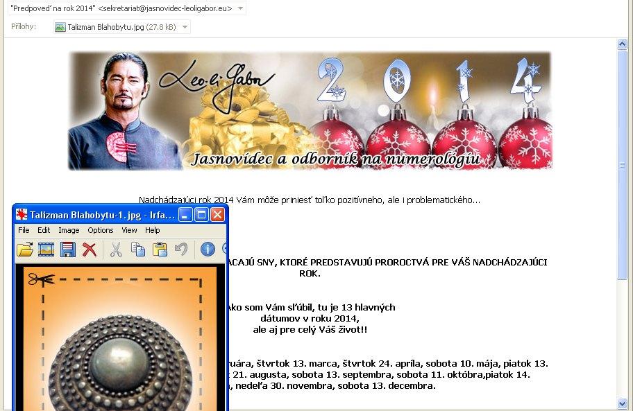 Leo Li Gabor, spam