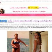 Pozor: Chudnutie s Choco Lite, falošná Mária Maťová a jej falošný blog