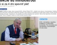 Falošný lekár Michal Šebeň, falošný prípravok Liftoskin a podvod s pleťou