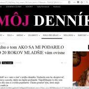 Falošný ženský blog utajenej blogerky a omladenie s GOJI CREAM