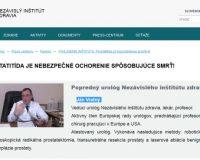 Pozor! Prípravok Prostect a falošní lekári Ján Vratný  a Michal Lúčny