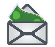 Obálka spam a email
