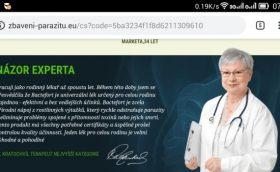 Bactefort stránky a parazity lekár Kratochvíl