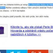 Falošné stránky opat-mlady.com predávajú pochybný Perle Bleue