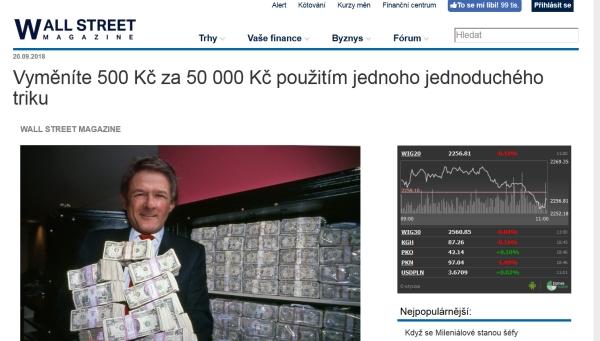 peterson, obrovské zárobky a peniaze, bitcoin