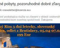 """Inzertná spoločnosť """"inzercie.eu"""" a plnohodnotný spam. Ale prečo?"""