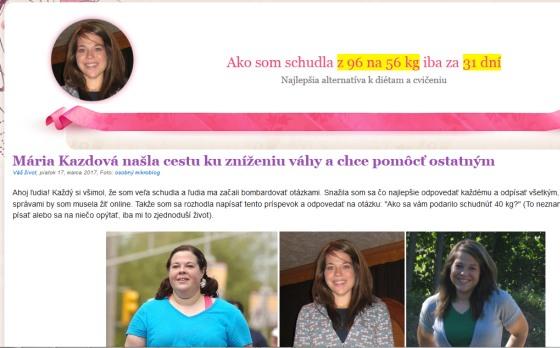Podvodné stránky a Marie Kazdová