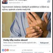 Pozor:  Na Facebooku sa šíria podvodné reklamy na liečenie kĺbov