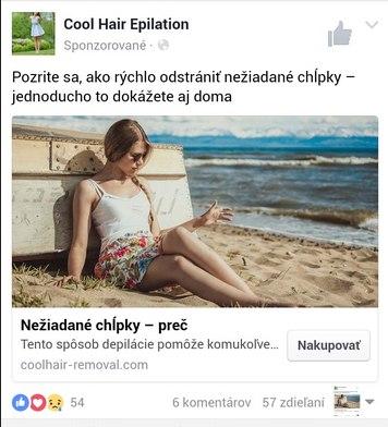FreshDepil, podvod na facebooku