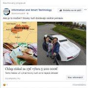 Podvodné reklamy s peniazmi na Facebooku, falošný The Sun a hazardná hra