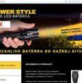 Pozor na stránky powerstyle-led-sk.com, ide o podozrivý predaj