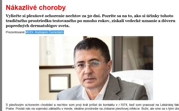 Vraj praxoval v Prahe, MUDr Andrej Černický