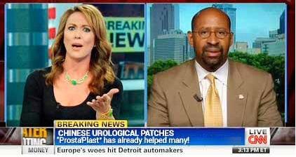 podvodná retuš správ zo CNN, na náplasti potencie