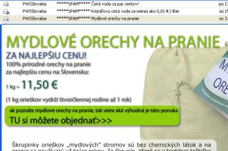 PWS a spam