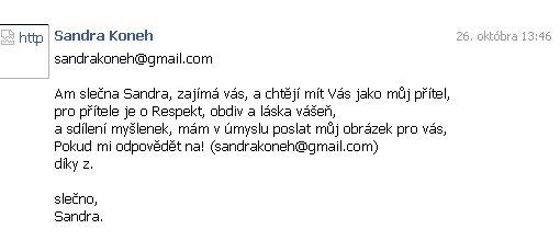 sandra spam
