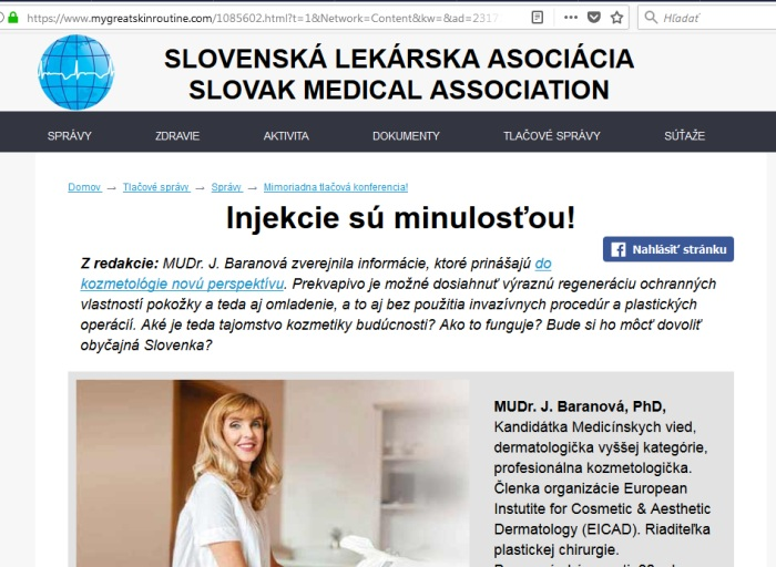 Bioxelan falošné lekárky