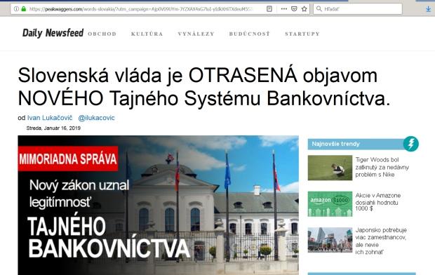 Facebook a podvodné reklamy o zárobkoch Slovákov, slovenská vláda