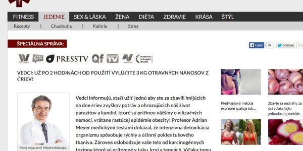 Údajný Slovenský lekársky portál a ďalšie podvodné zdravotné stránky