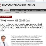 Slovenský lekársky portal – pozor na tieto podvodné stránky o chudnutí