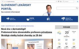 Slovenský lekársky portál a Magniskin