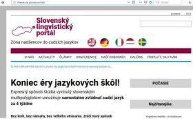 Slovenský lingvistický portál