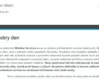 Mailing.cz alebo hromadnymail.sk a dokonca my obeťou spamu