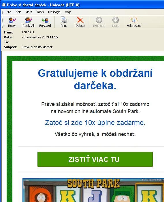 Spam- South Park