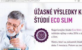 Kvapky na chudnutie Eco Slim