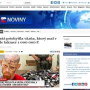 Podvod na Facebooku: vraj slovenský väzeň zarobil milión EUR