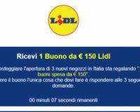 LIDL vám nedá žiaden kupón na 100 EUR zľavu, ide o podvod cez Whatsupp