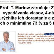Pozor: Falošný profesor Terry Marlow a Vivese Senso Duo Shampoo