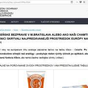 Pozor: stránky Ústav Ochrany zdravia Slovenskej federácie sú podvod