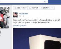 Podvodná súťaž a praktiky na Facebook stránke Youtuberi