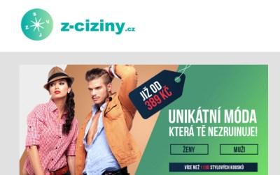 Z-ciziny spam od Posleme247.cz