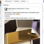 Súťaž o iPhone na Facebooku – pozor na tieto podvodné stránky