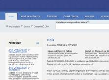 Zorg.sk a organizacie.com sa len hrajú na zoznam firiem