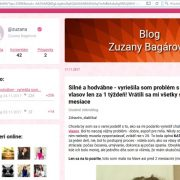 Prípravok na rast vlasov Princess Hair a fejk blog Zuzany Bagárovej
